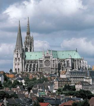 1.floating chartres