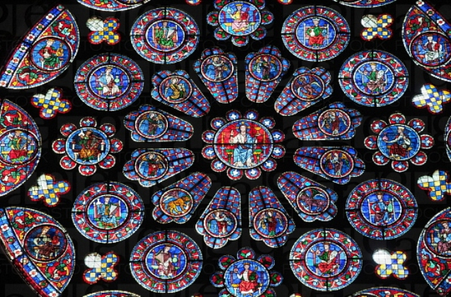 3.South rose window
